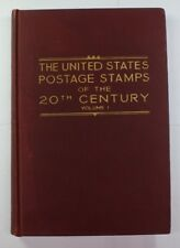 """""""The U.S. Postage Stamps of the 20th Century""""  Vol. 1 Revised March 1937 RSE C5"""