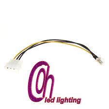 20cm 4-Pin IDE to 3-Pin CPU/Case Fan Power Connector Cable Desktop PC Fan