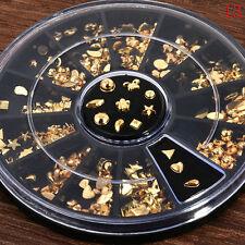 3D Glitters Nail Art Rhinestones Series Acrylic Manicure Tips Decoration Wheel