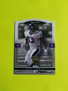 2003 Skybox Limited Edition Ray Lewis Artist Proof Die Cut SP SN# 12/50 Auto