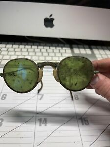 Vintage Welding Glasses With Case