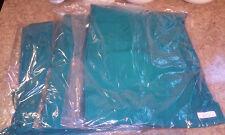 LOT OF 3 scrubs scrub elastic/drawstring pant Green 3XL unisex