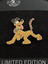 Disney Shopping Pluto's Holiday Fun Winter Le 100 Pin Jingle Bells Christmas Htf