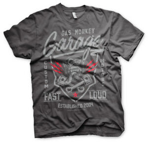 Official Licensed Gas Monkey Garage (GMG) - Fast and Loud Men's T-Shirt S-3XL