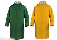 Delta Plus Panoply MA305 Outdoor Waterproof PVC Long Jacket Rain Mac Coat BNWT