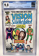 Vision And The Scarlet Witch v2 #12 1st App Wiccan and Speed CGC 9.8 White Pages