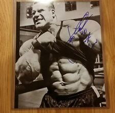 Jay Cutler 4X Mr. Olympia Body Builder Signed Autographed 8 x 10 Photo Proof