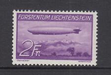 Liechtenstein Sc C16 Zeppelin Set 1936 VF Mint Never Hinged