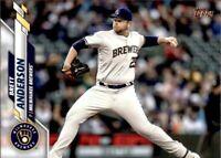 2020 Topps Update Brett Anderson Base #275 - Milwaukee Brewers