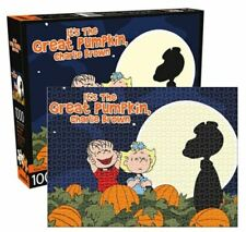 1000pc Snoopy Charlie Brown Peanuts Great Pumpkin Halloween Jigsaw Puzzle