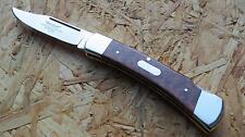 Hartkopf Taschenmesser Messer Schlangenholz Stahl 1.4110 330211 Neu