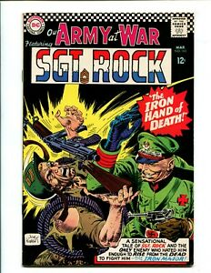 OUR ARMY AT WAR #165 (6.5) KUBERT, IRON HAND!! 1966