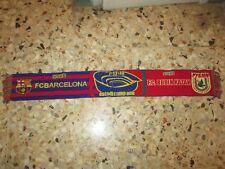 echarpe scarf BARCELONE BARCELONA BARCA RUBIN KAZAN 2010 CHAMPIONS LEAGUE UEFA