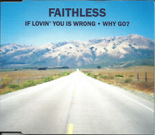 FAITHLESS If Lovin you is wrong / Why Go EDIT & 2 RARE MIXES CD single SEALED