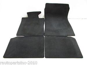2013 MINI COOPER FLOOR MATS BLACK CLOTH OEM 13