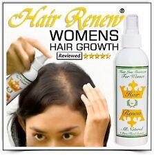 HAIR RENEW TREATMENT REGROWTH menopausal thinning loss women female alopecia