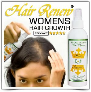 HAIR RENEW TREATMENT REGROWTH menopausal thinning loss women female alopecia