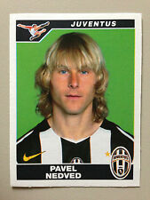 CALCIATORI 2004-2005 04 05 n 187 JUVENTUS NEDVED , Figurina Sticker Panini NEW