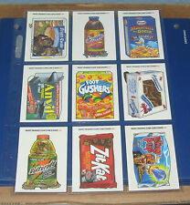 WACKY PACKAGES ANS1 CLEAR WINDOW CLINGS @@  PICK ONE  @@    NM/MT