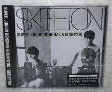 DONGHAE & EUNHYUK SKELETON 2014 Taiwan Ltd CD only+Card (Super Junior)