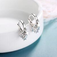 Star Tassel Earrings Drop Women Girls Gift Simple Hoop Earrings Ear Clips Trendy