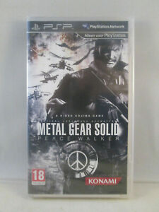 Sony Playstation Portable PSP - Metal Gear Solid Peace Walker NEW SEALED Kojima