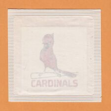 "RARE STILL PKGD VINTAGE 1972 ST LOUIS CARDINALS 2 1/2"" PAPERBACKED DECAL STICKER"