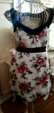 French Connection Floral Lined Shift Dress Size 12/14