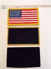440 pack - USA EMBROIDERED AMERICAN FLAG VELCRO PATCH, TACTICAL MILITARY $pecial