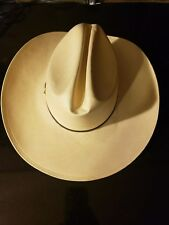 Larry Mahan Men's 12X Cattleman Straw Cowboy Hat - size 6.78 #0867 NWT!!!