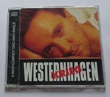 Westernhagen - Krieg Maxi CD Frieden maxi cd single
