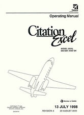 CESSNA 560XL CITATION XL - OPERATING MANUAL