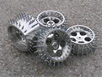 4x ALU Spike Spikes Reäder Rad-Felgen für FG Marder