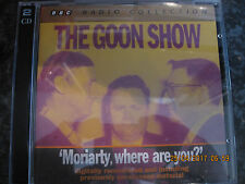 CD THE GOON SHOW MORIARTY WHERE ARE YOU   2CDS DISCS  VGC