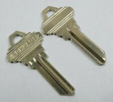 "Schlage Original ""C"" 35-100C Key Blanks 5-Pins"