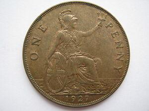 1927 Penny, A UNC.