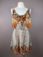 *AMRICAN RAG CIE* SIZE S WOMEN'S SLEEVELESS LACE MULTI COLOR STRETCHY DRESS