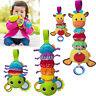 Lovely Baby Infant Rattles Plush Animal Stroller Music Hanging Bell Toy Doll