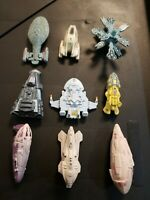Galoob Micro Machines Star Trek Voyager Complete Set of 9 Ships