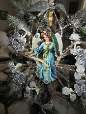 GROSSER STERN CHRISTBAUMSPITZE ALTE OBLATE DRESDNER PAPPE CHRISTBAUMSCHMUCK ( 2)