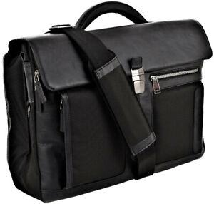 PIQUADRO Business Aktentasche Frame Messenger Bag Nero Schwarz NEU