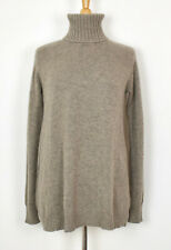 ALLUDE Oversized Soft Cozy Turtleneck Sweater XS Wool-30% Cashmere EUC
