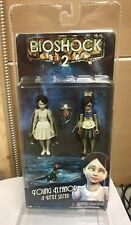 NECA Bioshock 2 ELEANOR LAMB And LITTLE SISTER Action Figures New Sealed