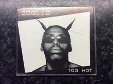 COOLIO Too Hot CD 2 Track Clean Version B/w Exercise Yo Game Clean Version (tbcd