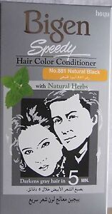 Bigen Speedy  Hair Dye Hair Color Conditioner  #881 black from Japan
