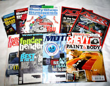 Lot of 9 Automotive Magazines BodyShop Business AGGR and Fender Bender + More
