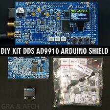DIY KIT DDS AD9910 Arduino Shield RF Signal Generator 600MHZ @ 1.5GSPS Low spurs