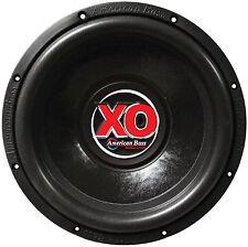 "American Bass XO1244 Subwoofer 12"" American Bass 60 Oz.magnet Dual 4 Ohm"