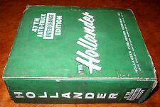 Hollander Parts Interchange Manual 69 70 71 73 74 75 GS GTO GTX CHARGER 442 SS