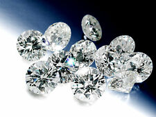 1.60 TCW ROUND SHAPED G-H/ SI NATURAL LOOSE DIAMOND 40 PC LOT 0.04 CT EACH D79